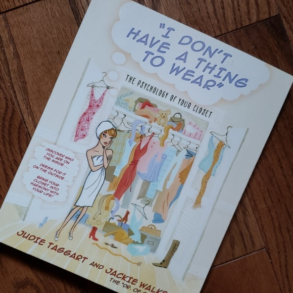 Other - I DON'T HAVE A THING TO WEAR Book